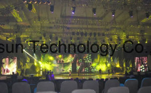 Flexible LED Curtain Display/ LED Screen / LED Wall/Stage Backdrop pictures & photos