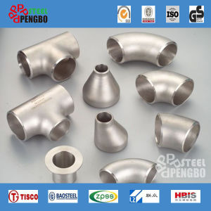 Butt Weld Bw Seamless Stainless Steel Pipe Fitting pictures & photos
