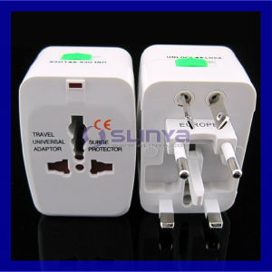Universal World AC Power Socket Plug Adapter Us EU UK Au Extension International Travel Plug pictures & photos