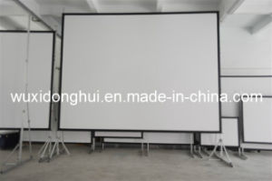 Portable Different Size Fast Fold Screen with Wheel Free Dhffps-106