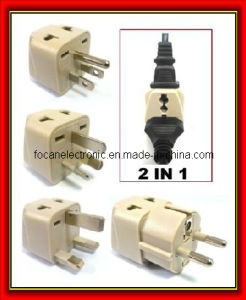Universal to Worldwide Travel 2-in-1 Plug Adapter Kit pictures & photos