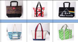 210D Film PVC Tote Shopping Bag pictures & photos