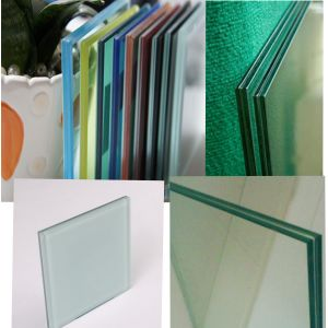 6.38-42.30mm Clear / Tinted Laminated Glass with ISO Certificate pictures & photos