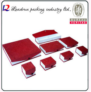 Leather Velvet Jewellery Candy Cosmetic Packing Box Perfume Box Business Suit Case Badge Box Paper Bag Jewelry Ring Bangle Necklace Packaging Box (Lj08) pictures & photos