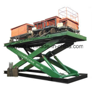 Electric Freight Lift Elevators for Goods Lift Price/Warehouse Hydraulic Cargo Lift for Sale pictures & photos