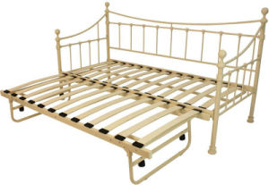 Metal Day Bed with Trundle / Steel Daybed pictures & photos