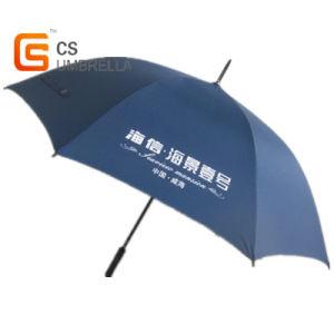 27inches Dark Blue Promotional Gold Umbrella (YSA030)