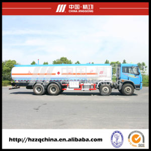 24500L SUS 257HP Fuel Tank Truck for Light Diesel Oil Delivery 8X4 (HZZ5312GJY) for Sale pictures & photos