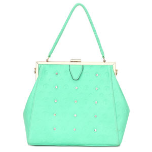 2014 Studded Green Double Strap Detail Designer Bag (MBNO034058) pictures & photos