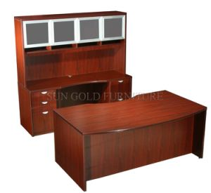 Modern Office Table with Bookcase (SZ-OD270) pictures & photos