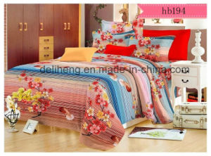 High Quality Microfiber Floral Cashmere 100% Polyester Printed Sheeting Fabric pictures & photos