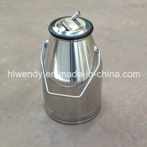 Stainless Steel Milk Bucket with Ss201 Cover pictures & photos