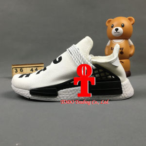 Pharrell Williams Hu Human Race Nmd X off White Brand Primeknit Camo Mens Running Shoes Originals Nmds Runner Sports Shoes pictures & photos