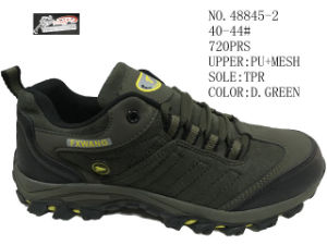 No. 48845 Three Colors Men Hiking Stock Shoes pictures & photos