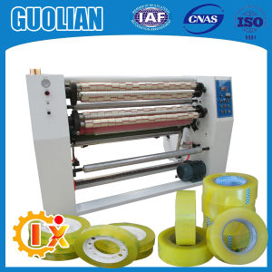Gl-215 Transparent Adhesive Tape Slitting Machine pictures & photos