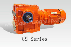 GS Series Helical-Worm 90 Degree Flange and Foot Mounted Geard Motors