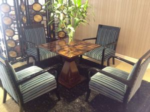 Chinese Wooden Hotel Restaurant Furniture (GLDSD-001) pictures & photos