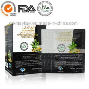 Al-Chandai Hair Color Shampoo for Grey Hair (Black) pictures & photos