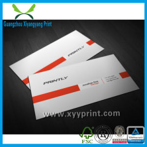 Custom High Quality Luxury Business Card with Company Logo pictures & photos