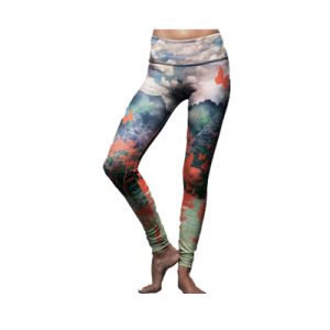 2017 New Fashion Women Sexy Yoga Print Push up Leggings with Custom Size pictures & photos