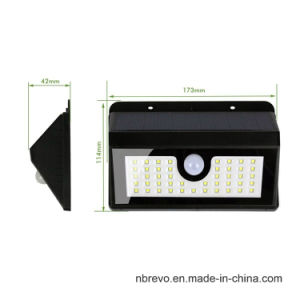 45 LED Waterproof Solar PIR Motion Sensor Garden Light (RS2014) pictures & photos