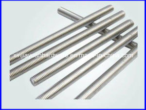 Ss304 Stainless Steel Threaded Rod (DIN975 DIN976) pictures & photos