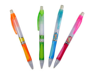 OEM Design Promotional Rubber Ballpoint Pens pictures & photos