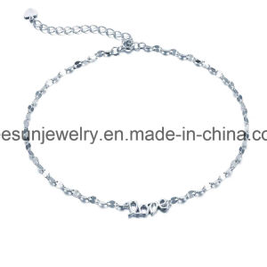 925 Sterling Silver Jewelry Light Weight Good Selling Bracelet and Anklet pictures & photos