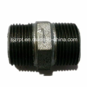 Hexagon Galvanized Nipple Malleable Iron Pipe Fittings pictures & photos