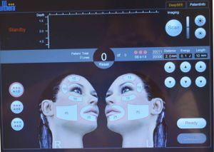 Hifu Portable Focused Ultrasound Beauty Machine for Skin Tightening Face Lifting Hifu pictures & photos