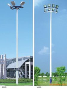 Hot DIP Galvanized High Mast Pole/Igh Mast with High Post 250*6 LED Flood Light pictures & photos