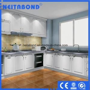 Elegant Heat Resistant Polystyrene Wall Cladding Decorative Aluminium Kitchen Panels