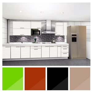 Cheap Glossy Lacqure Australia Kitchen Cabinets (zhuv) pictures & photos