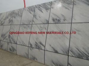 Natural Stone Black Stripe White Marble Wall Tile and Floor Tiles