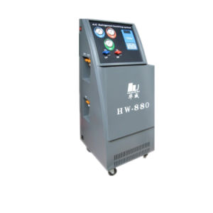Car Air Conditioner R134A Refrigerant Recovery Machine pictures & photos