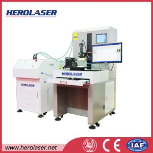 Patented Highest Efficiency Jewelry Hardware Fiber Coupled Laser Welding Machine pictures & photos