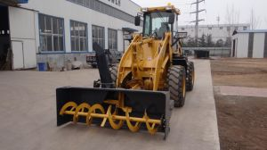 Engineering Machinery 2ton Front Wheel Loader with Ce pictures & photos