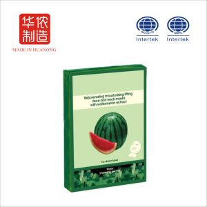 Skincare Whitening Skin Products Silk Protein Watermelon Facial Mask