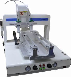 Trade Assurance Liquid Glue Dispenser Machine in Electronics Production Machinery (jt-4210) pictures & photos
