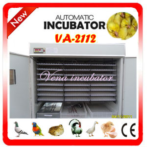 CE Approved Cheap Fully Automatic Quail Incubator for 2112 Eggs pictures & photos