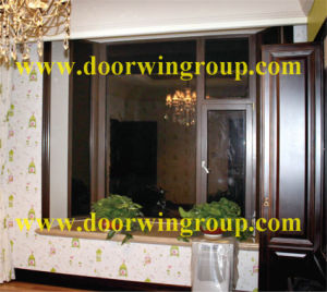 Double Glazing Aluminum Solid Wood Window pictures & photos