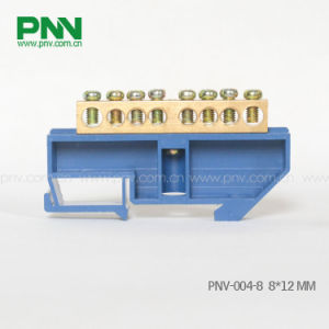 Dinrail Mouting Terminal Block 8 Ways 8*12mm