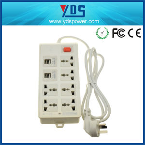 Power Strip Portable Extention Socket 6 USB and 4 AC Port Charger pictures & photos