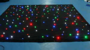 LED Light Star Vision Cloth LED Curtains for Stage Backdrops RGB LED Star Cloth pictures & photos