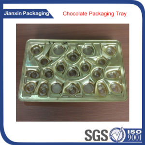 Golden Tray for Chocolate Packing pictures & photos