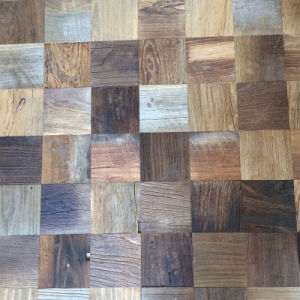 Reclaimed Elm Flooring/Old Wooden Floors/Engineered Old Flooring (Parquet) (05)