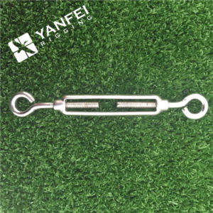 Us Type Stainless Steel Eye&Hook Turnbuckle for Wire Rope pictures & photos