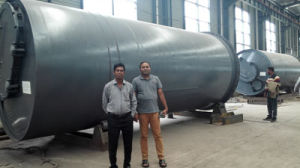 Tire to Oil Refining Pyrolysis Plant Getting 35-50% Tire Oil pictures & photos