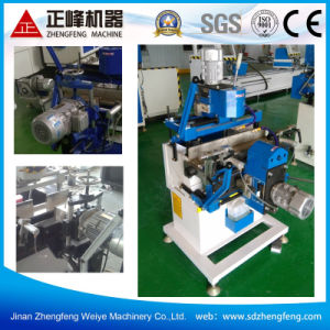 Lock-Hole Groove Processing Machine for UPVC Profile