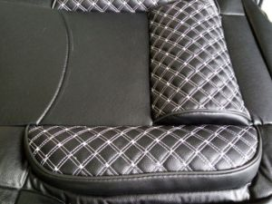 3D PU Car Seat Cover Synthetic Leather (BT 2096) pictures & photos
